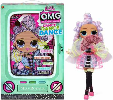 LOL Surprise OMG Dance Dance Dance Miss Royale Fashion Doll