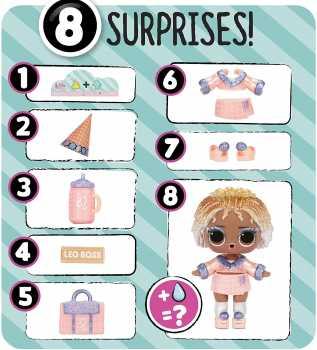 LOL Surprise Present Surprise Series 2 Glitter Shimmer Star Sign Themed
