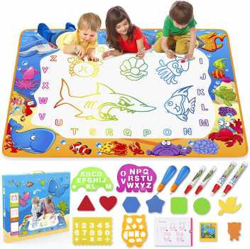 Water Doodle Mat - Kids Painting