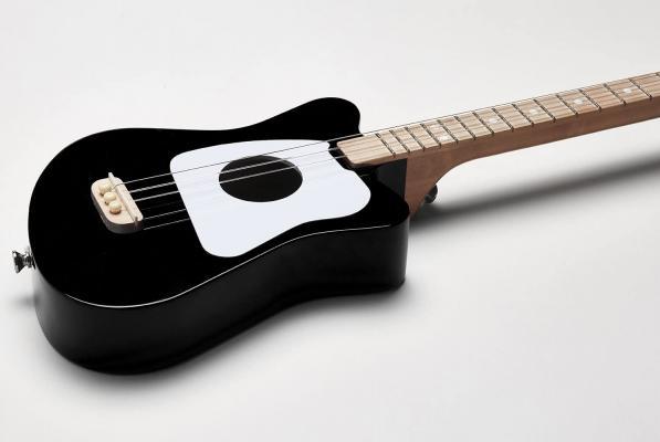 Loog Mini Acoustic Guitar for Children and Beginners, (Black)