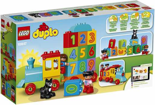 LEGO DUPLO 10847 Learning and Counting Train Set Building Kit (23 Pieces)