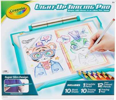 Crayola Light Up Tracing Pad Teal