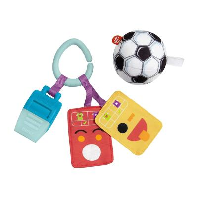 Fisher-Price Just for Kicks Gift Set, 3 Soccer-Themed Infant Activity Toys for Newborn Babies from Birth and Up