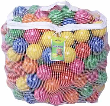 Click N' Play Pack of 200 Phthalate Free BPA Free Crush Proof Plastic Ball