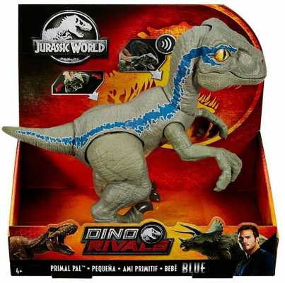 Jurassic World Primal Pal Blue with Spring-activated Action