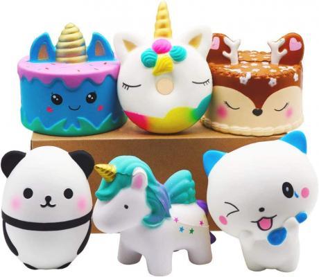 YOAUSHY 6 Pcs Squishies Toy Jumbo