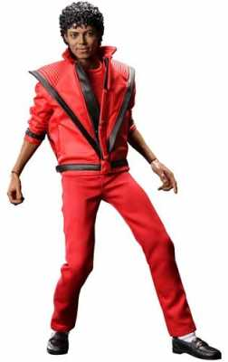 Hot Toys Michael Jackson 12 Inch Action Figure Thriller
