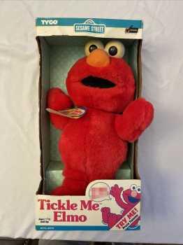 Unreleased Tickle Me Elmo Doll - Cursing Edition NIB