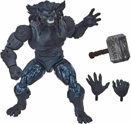 Hasbro Marvel Legends Series 6-inch Collectible Marvel's Dark Beast Action Figure Toy X-Men: Age of Apocalypse Collection