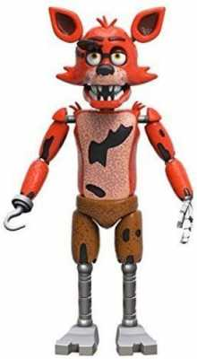 Funko Five Nights at Freddy's Articulated Foxy Action Figure, 5inch