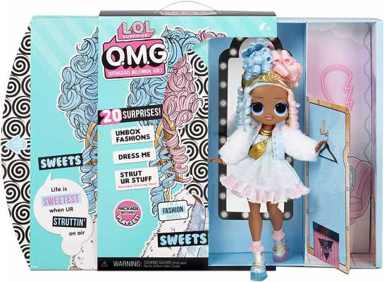 LOL Surprise OMG Sweets Fashion Doll - Dress Up Doll Set with 20 Surprises