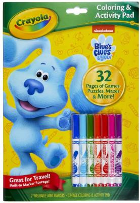 Crayola Blues Clues Color & Activity, 32 Coloring Pages