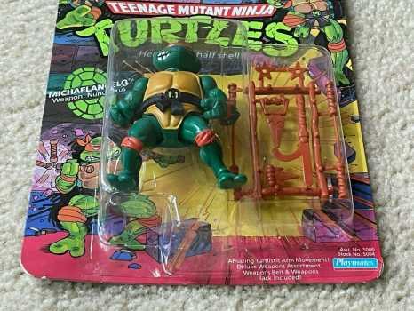 TMNT 1988 Teenage Mutant Ninja Turtles Mike Michaelangelo