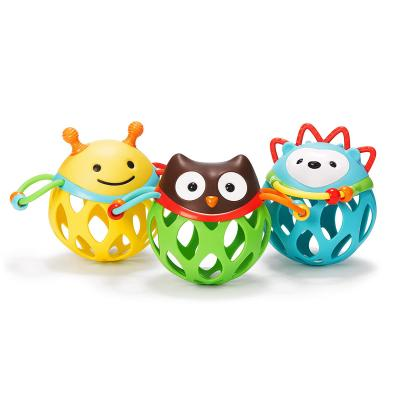 Skip Hop Baby Rattle Toy, Explore and More Roll Around Rattle, Hedgehog