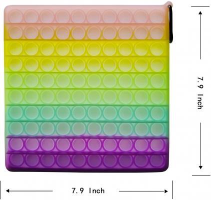 1 Pcs Big Size Jumbo Pop Luminous Push Bubble Sensory Fidget Toys