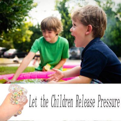 Fruit Stress Toy 3 Pack Kids Sensory Mesh Balls