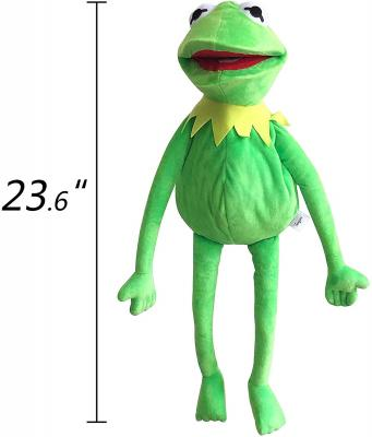 Kermit Frog Puppet, The Muppets Show, Soft Hand Frog Stuffed Plush Toy