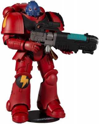 McFarlane Toys Warhammer 40,000 Blood AngelPrimarisSpace MarineHellblaster7inch