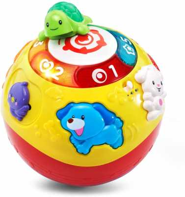 VTech Wiggle and Crawl Ball,Multicolor