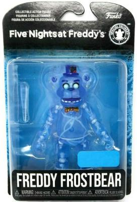 Five Nights at Freddy's Articulated Freddy Frostbear Action Figure, 5 Inch