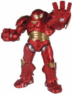 DIAMOND SELECT TOYS Marvel Select- Hulkbuster Action Figure, Multicolor