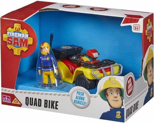 Character Options Fireman Sam Quad Bike with Sam Figure