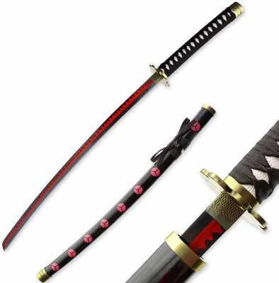 RENGENG Cosplay Anime Roronoa Zoro Sword, Shusui