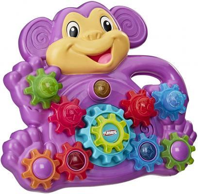 Playskool Stack 'n Spin Monkey Gears Toy