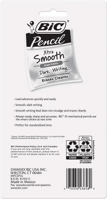BIC Xtra-Smooth Mechanical Pencil, Color Edition, Medium Point (0.7mm)