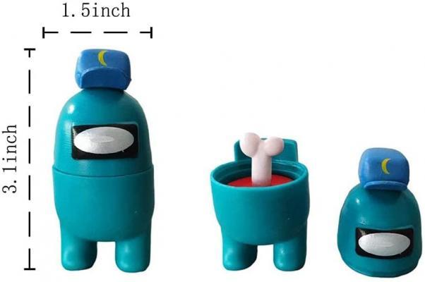 12PCS Among Us Merch Figurines Set