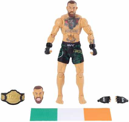 UFC Ultimate Series Limited Edition Conor McGregor, 6 Inch Collector Action Figure