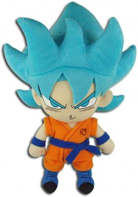 Great Eastern Entertainment Dragon Ball Super-SSGSS Goku 01 Plush 8inch