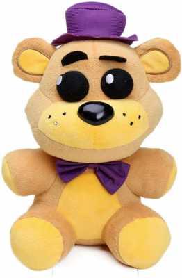 FNAF Toy Freddy Plushie Fazbear 25cm Toys Five Night at Freddy Golden Bear Nightmare