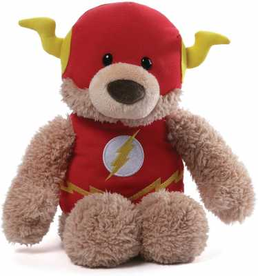 GUND DC Comics Flash Blaze Teddy Bear Stuffed Animal Plush, Red, 12inch
