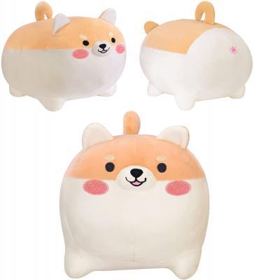 Shiba Inu Stuffed Animal Toy -Cute Corgi & Akita Dog Plush Pillow