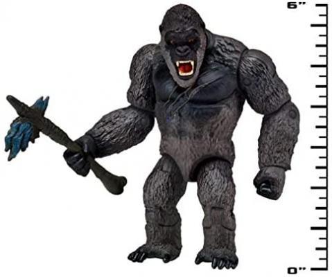 Godzilla vs. Kong 2021 Bundle of 2 Monsterverse Movie Series 6inch Action Figures