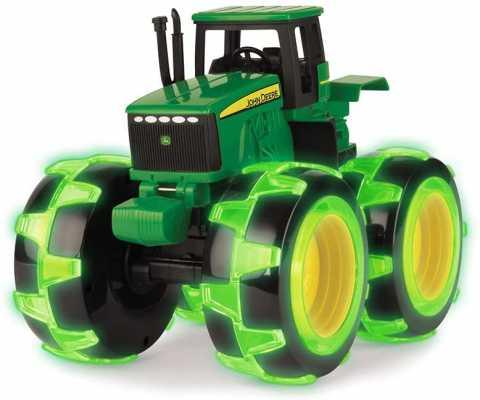 TOMY John Deere Monster Treads Lightning Wheels Tractor