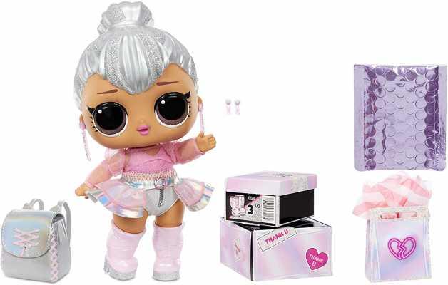 LOL Surprise Big B.B. (Big Baby) Kitty Queen – 11inch