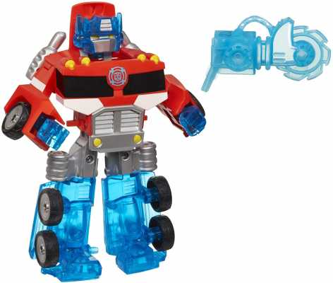 Playskool Heroes Transformers Rescue Bots Energize Optimus Prime Action Figure, Ages 3-7