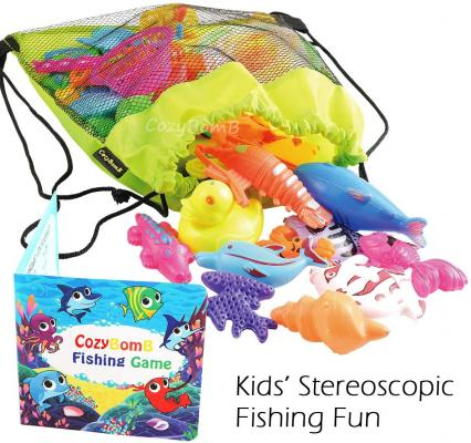 CozyBomB Magnetic Fishing Pool Toys Game for Kids