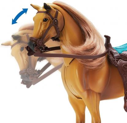 Sunny Days Entertainment Quarter Horse with Moveable Head, Realistic Sound and 14 Grooming Accessories
