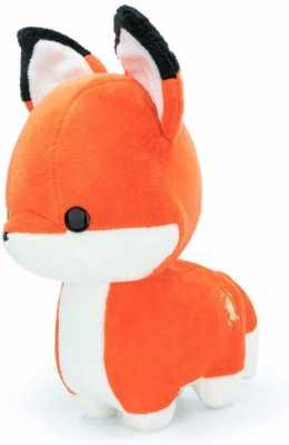 Bellzi Orange Fox Cute Stuffed Animal Plush Toy