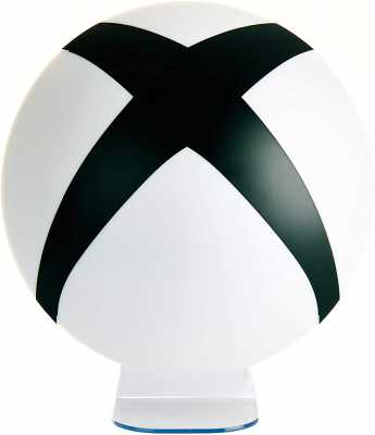 Paladone Xbox Logo Light - Decoration for Gamers, White, Black