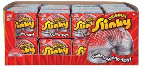 The Original Slinky Walking Spring Toy, Metal Slinky