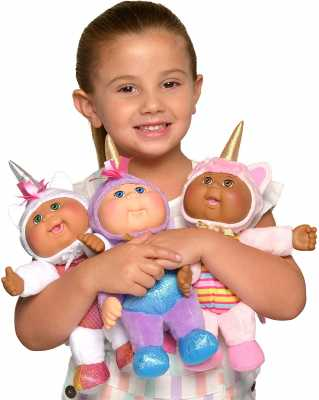 Cabbage Patch Kids Cuties, Fantasy Friends, 9inch 3-Pack