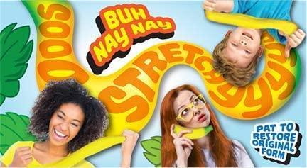 JA-RU Stretchy Banana Squishy Toys