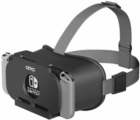VR Headset Compatible with Nintendo Switch, OIVO 3D VR (Virtual Reality) Glasses