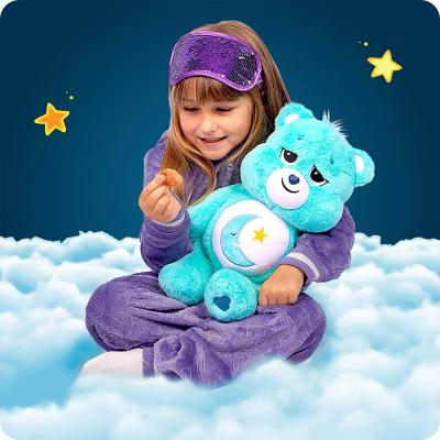 Care Bears Bedtime Bear Stuffed Animal (Amazon Exclusive), 16 inches