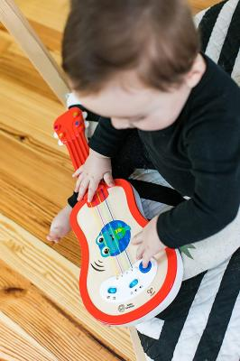 Baby Einstein Magic Touch Ukulele Wooden Musical Toy, Ages 12 months+