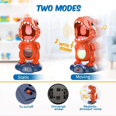 Movable Dinosaur Shooting Toys for Kids Target